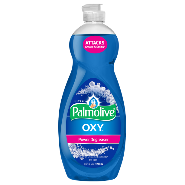 Palmolive Ultra Liquid Dish Soap Oxy Power Degreaser 32 5 Fluid