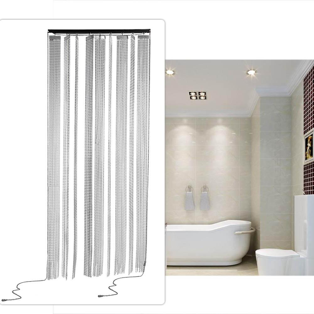 3 Colors Metal Chain Door Curtain Hilitand Metal Insect
