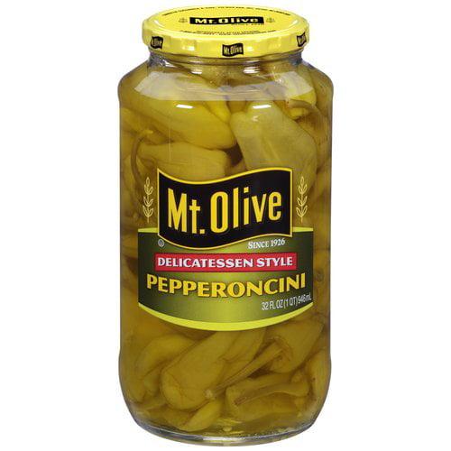 Mt. Olive Delicatessen Style Pepperoncini, 32 fl oz