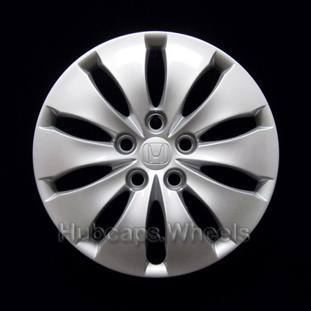 Honda Accord Hubcap (OEM Genuine Hubcap for Honda Accord 2008-2012 - Professionally Refinished Like New - 16in Replacement Single Wheel)