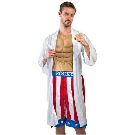 Female Boxer Costumes (Adult Rocky Boxer Costume)