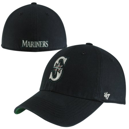 Seattle Mariners 47 Brand Franchise Fitted Hat   Navy