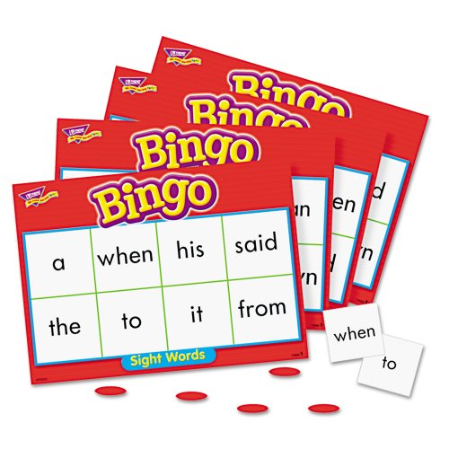 Trend T-6064 Sight Words Bingo Game - Theme/subject: Learning (T6064)