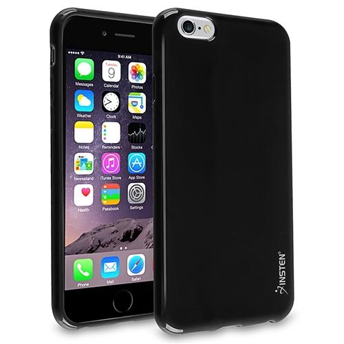 "Insten Black Shockproof Ultra Thin TPU Rubber Soft Case Cover For iPhone 6 Plus / 6S Plus 5.5"" inch"