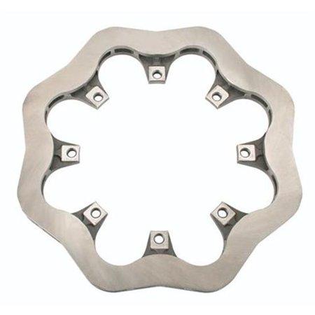 Cast Iron Scalloped Brake Rotor - 12.19 x .81 Inch