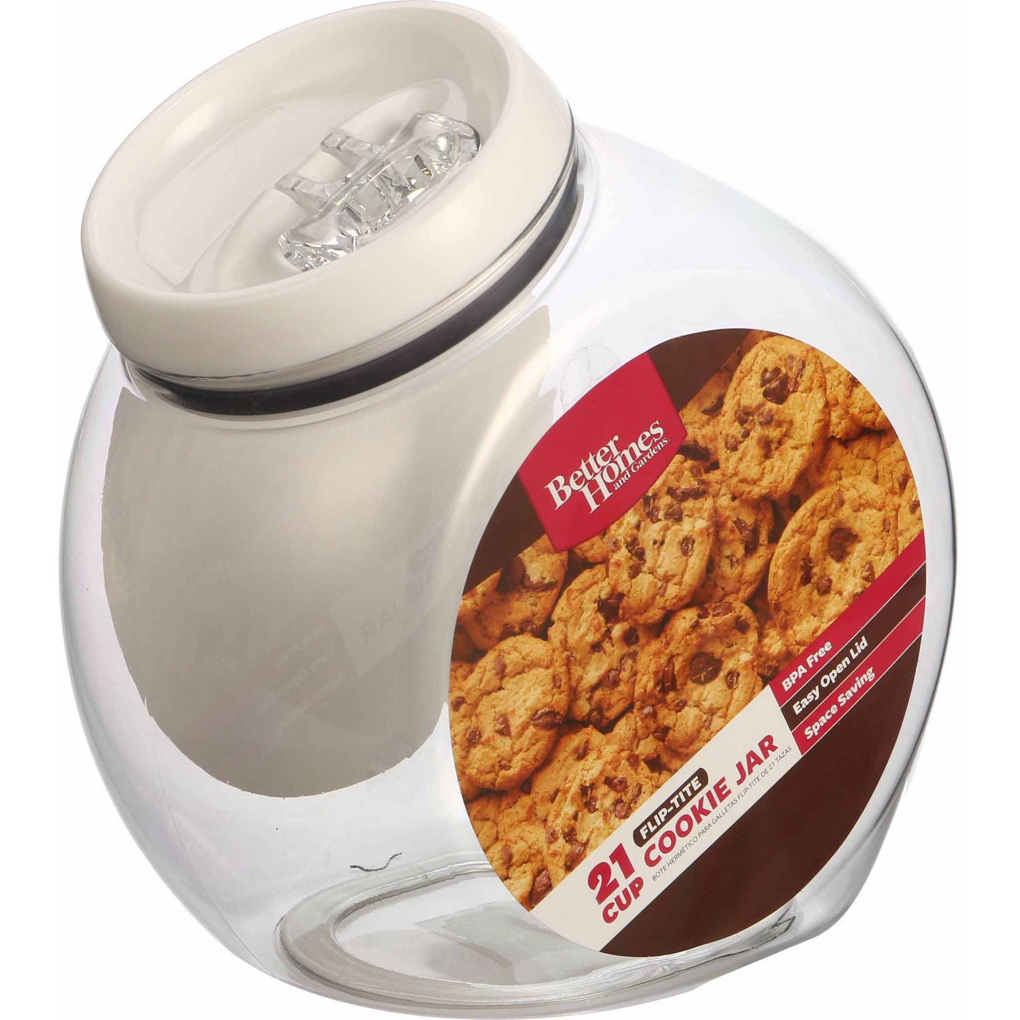 Better Homes and Gardens Flip Cookie Canister