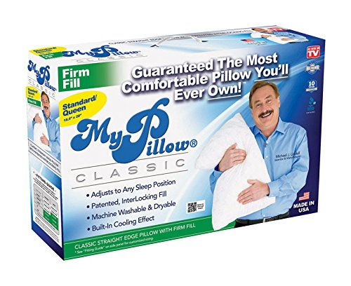 As Seen on TV My Pillow Standard Queen Size Pillow, Firm Fill by Telebrands