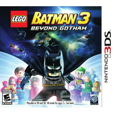 LEGO Batman 3: Beyond Gotham, WHV Games, Nintendo 3DS,