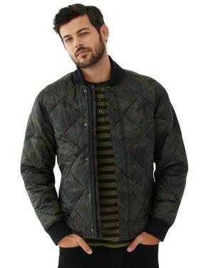 Free Assembly Men's Camo Bomber Jacket