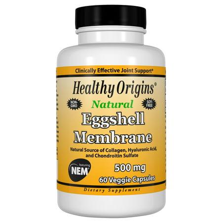 Membrane Capsule Filter - Eggshell Membrane 500 mg (NEM), 60 Veggie Capsules