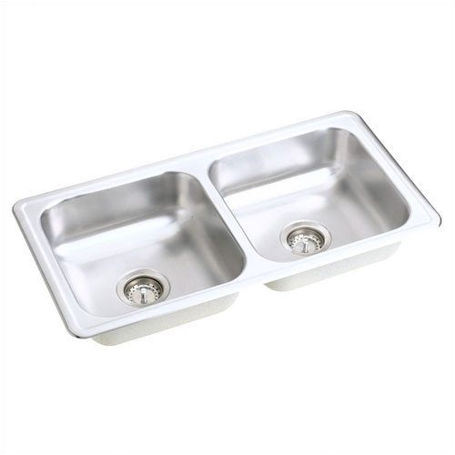 Elkay Dayton 33'' x 17'' Top Mount Stainless Steel Double Sink