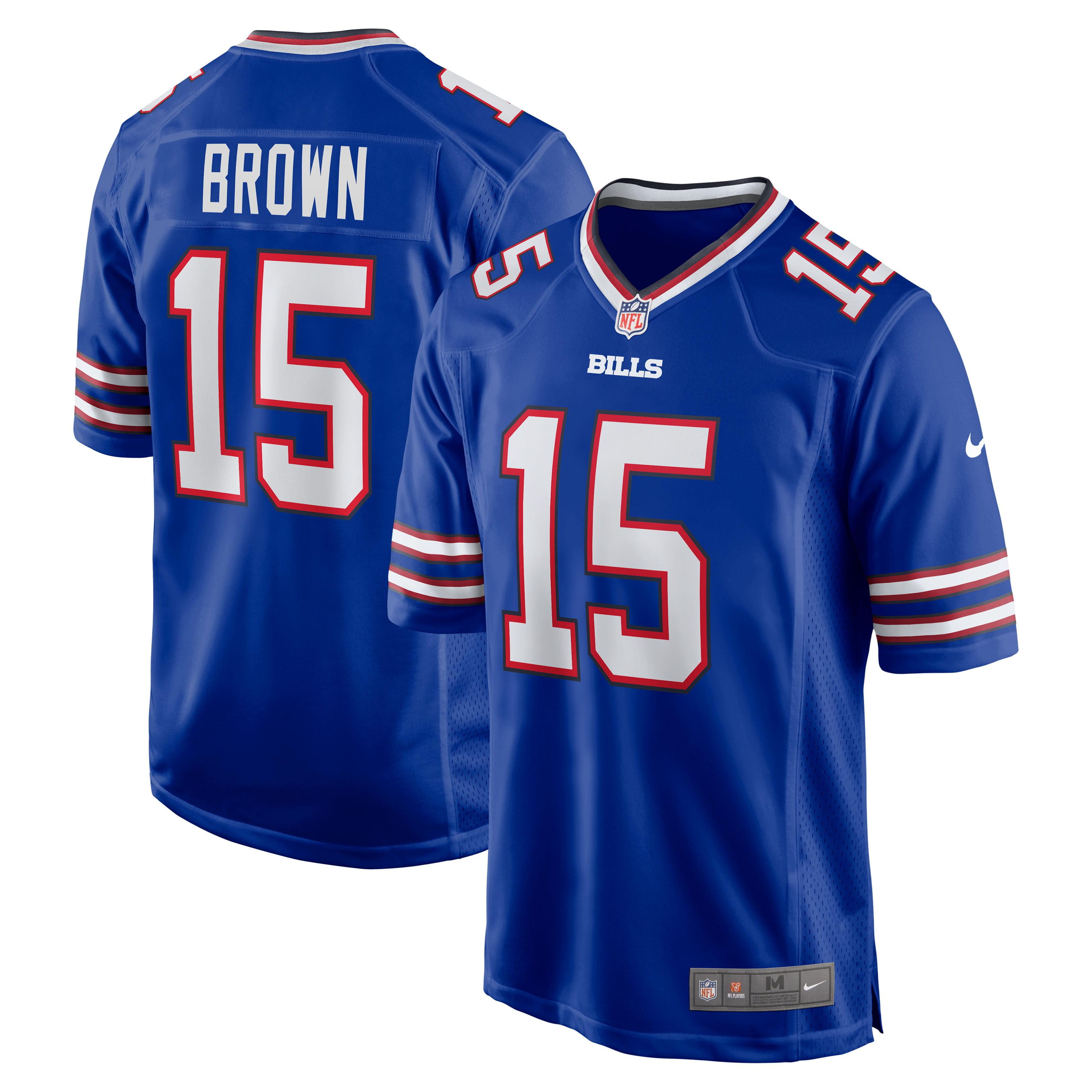 John Brown Buffalo Bills Nike Game Jersey - Royal - Walmart.com