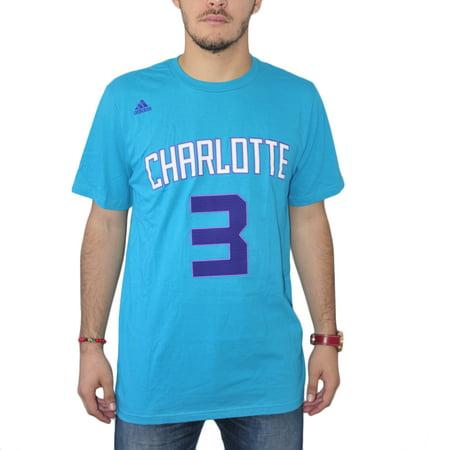 Adidas Nba Charlotte Hornets  3 Mens Blue T Shirt New Sizes M 2Xl