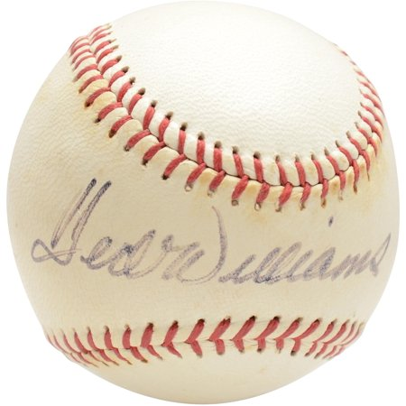 Ted Williams Boston Red Sox Autographed Vintage Toned Baseball - PSA V14005 - Fanatics Authentic Certified