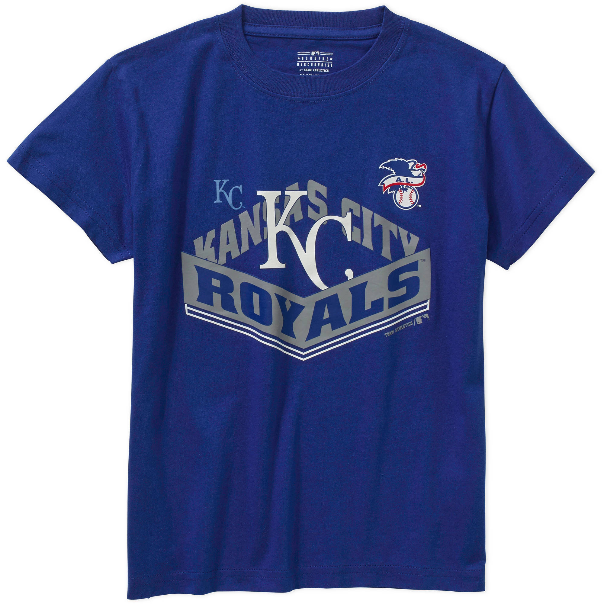 MLB  Boys Kansas City Royals  Alternate Team Short Sleeve Tee