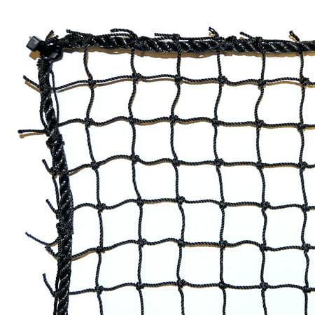 Dynamax Sports Low Impact Golf Barrier Net, 10' x 15', Black