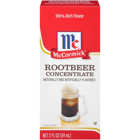 McCormick Natural & Artificial Flavored Root Beer Concentrate, 2 fl (Italian Flavor)