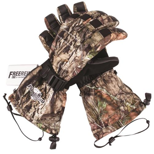 Flambeau Heated Synthetic Palm Gloves Camo - Large F200-CL