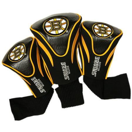 Team Golf NHL Boston Bruins 3 Pack Contour Head -