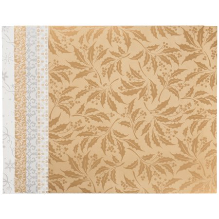 Cricut™ Anna Griffin® Anna's Holiday Splendor 12 in. x 12 in. Washi Sheets 5 ct Pack