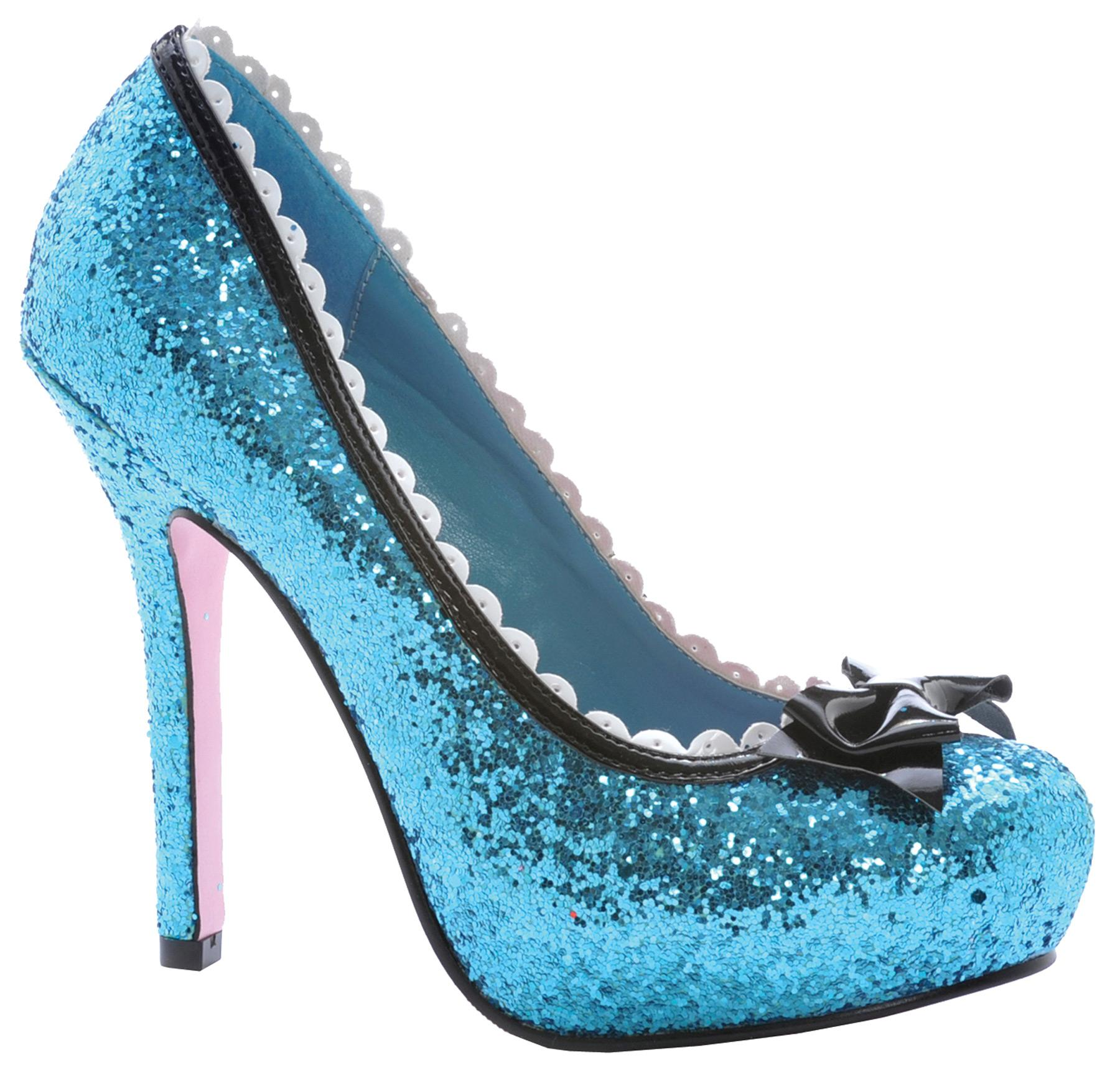 SHOES PRINCESS GLITTER BU SZ 6