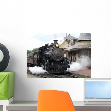 New Hope Ivyland Railroad Wall Mural by Wallmonkeys Peel and Stick Graphic (18 in W x 13 in H)