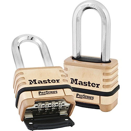 Master Lock Proseries Brass Resettable Combination Lock W Standard Sha by Master Lock