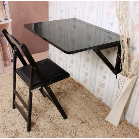 Super Haotian Wall Mounted Drop Leaf Table Folding Kitchen Dining Table Desk Solid Wood Children Table Home Office Table Desk Workstation Computer Desk Bralicious Painted Fabric Chair Ideas Braliciousco