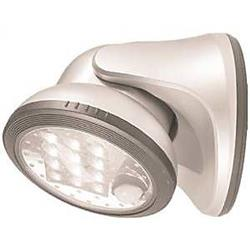 Fulcrum Products 1057389 20034-108 12 LED Porch Light, White by