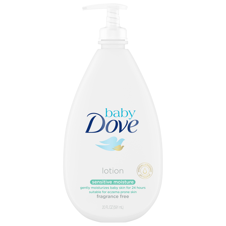 Baby Dove Sensitive Moisture Baby Lotion, 20 oz