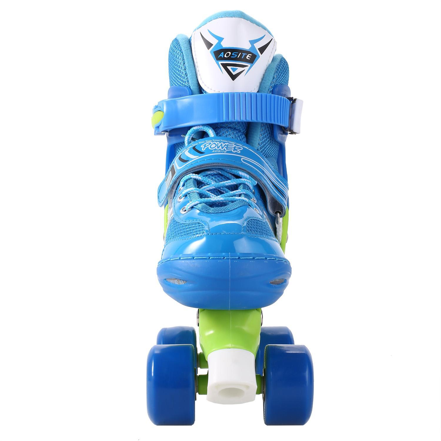 Kimimart Adjule Kids Roller Skates Pvc Wheel Triple Lock Mesh Breathable Rollerblades For Beginners Toddlers Children Boys S