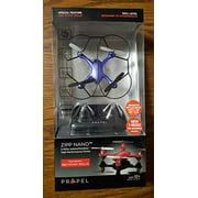 Propel Zipp Nano 24Ghz Indooroutdoor High Performance Drone 360 Stunt Rolls, Blue