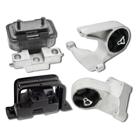 K1157 Fits 2001-2006 Chrysler Sebring Except Coupe 2.4L 2.7L Motor & Trans Mount 4pc : A3034 A2841 A3049