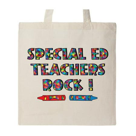 Special Ed Teachers Rock Tote Bag](Best Teacher Bags)