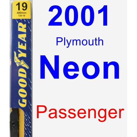 2001 Plymouth Neon Passenger Wiper Blade - Premium