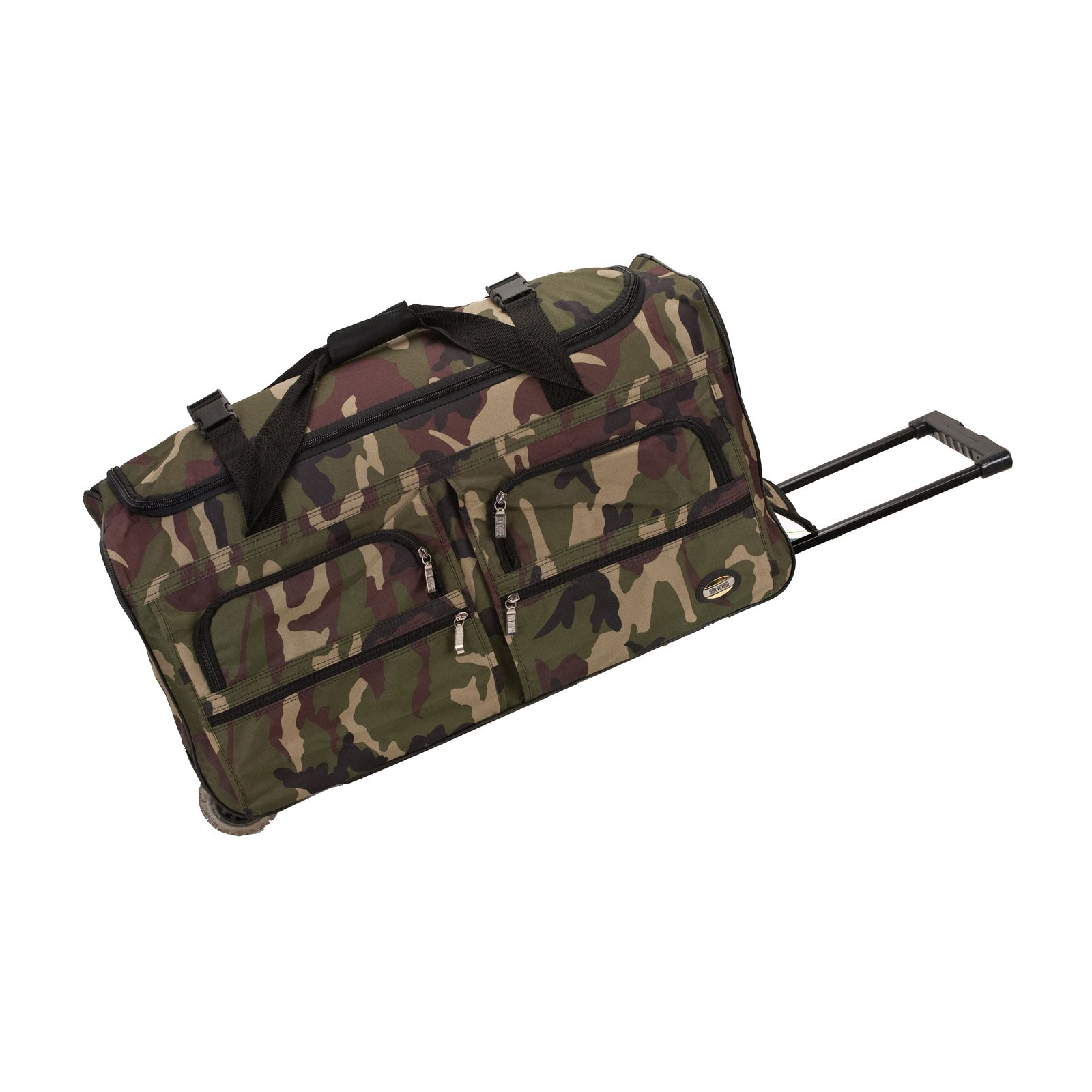 """Rockland Luggage 36"""" Rolling Duffle by Overstock"""