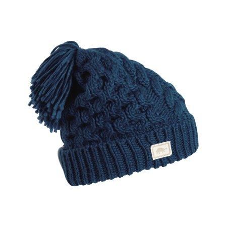 f1959ed5e65 Turtle Fur - Turtle Fur Jovie Women s Fleece Lined Hand Knit Tassel Pom  Winter Hat - Walmart.com