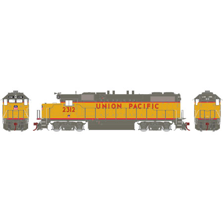 Athearn G65462 HO Union Pacific GP38-2 Diesel Loco Phase ...