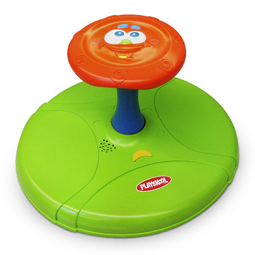 Outer Edge Playskool Simon Says Sit N Spin