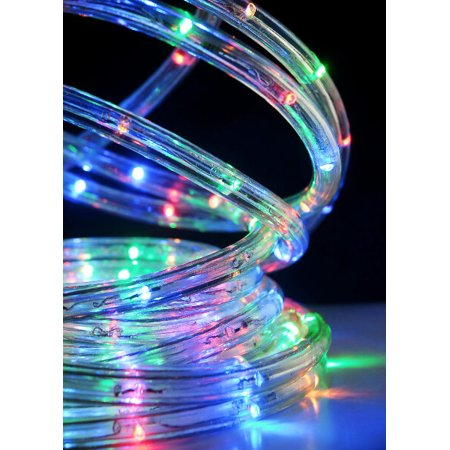 Led Rope Lights 33 Foot Multicolor Rgb 8 Diffe Settings