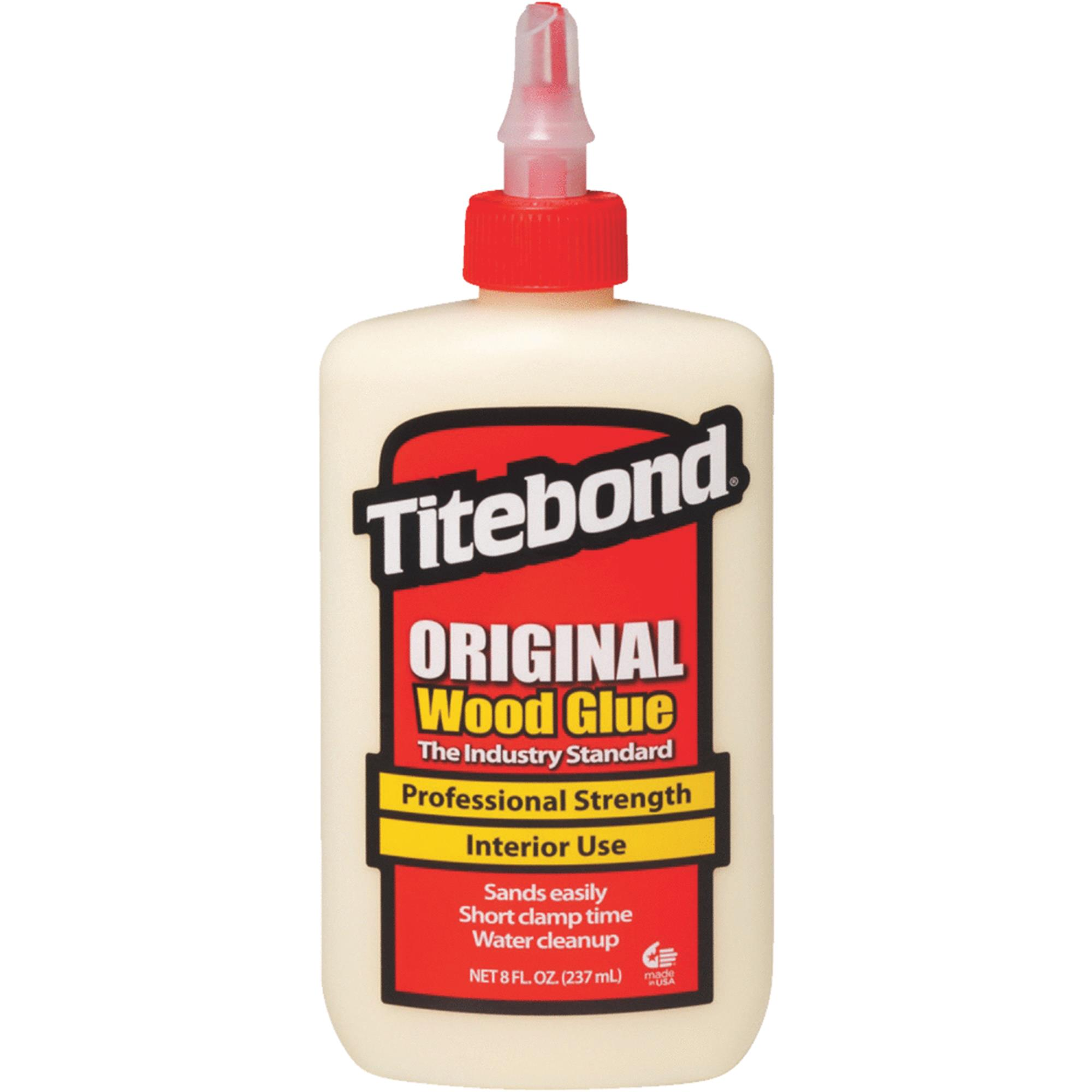 TITEBOND 5063 Wood Glue, Original, 8 Oz, Ylw