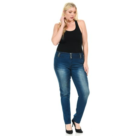 Sweet Look Premium Edition Women's Jeans · Plus Size · High Waist · Style