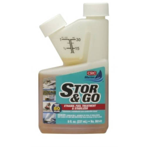 CRC Industries Stor and Go Ethanol Fuel Treatment and Stabilizer, 8 oz