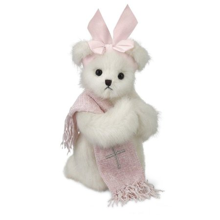 Bearington Patty Praymore Plush Stuffed Animal Baptism Teddy Bear, 10""