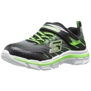 Skechers Kids Nitrate 95346L Sneaker (Little Kid/Big Kid), Black/Lime, 12 M US Little Kid
