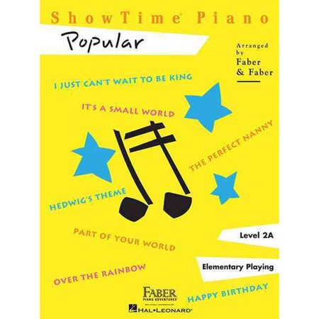 Showtime Piano - Level 2a: Popular; Elementary Playing