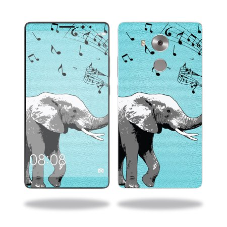 - Skin Decal Wrap for Huawei Mate 8 cover sticker skins Musical Elephant