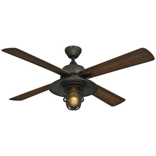 Great Falls 52-Inch ABS Four-Blade Indoor/Outdoor Ceiling Fan