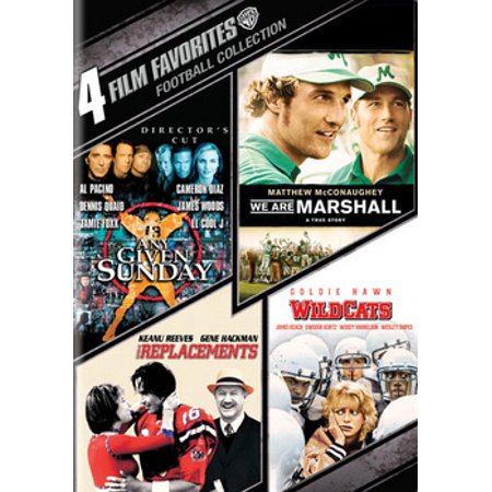 Coverage Football Dvd (4 Film Favorites: Football)