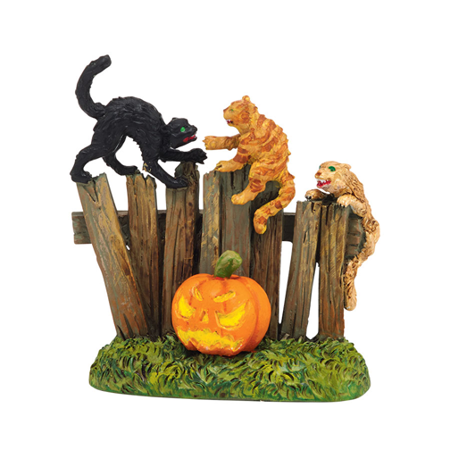 Department 56 Halloween Village Creepy Creatures Cats